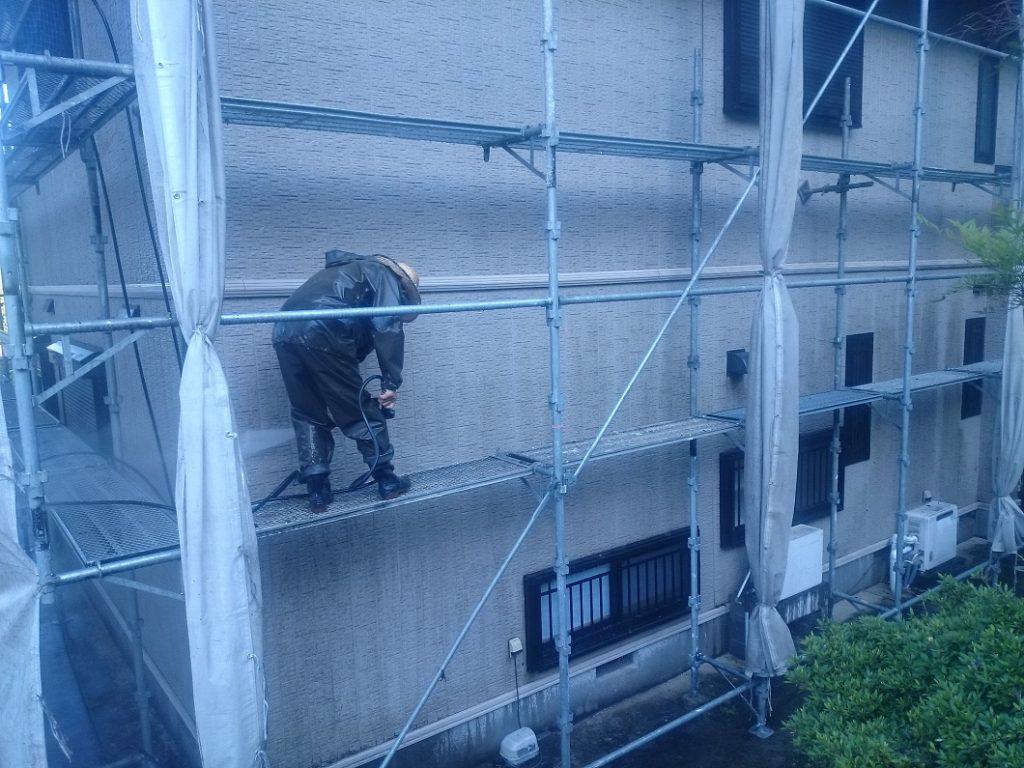 伊豆市大平S邸外壁