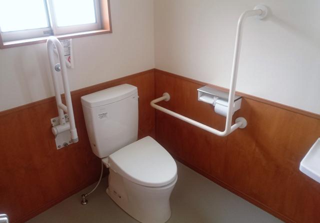 介護リフォームトイレ
